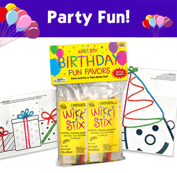 Party Fun Favors for Kids