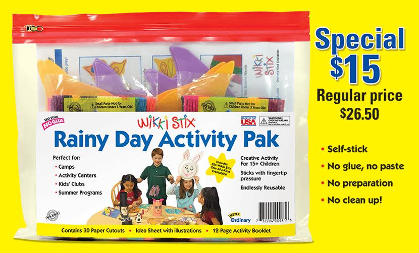 Rainy Day Activity Set for Children