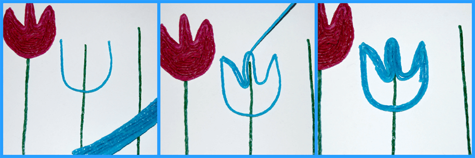 Creating a Tulip Craft with Wikki Stix