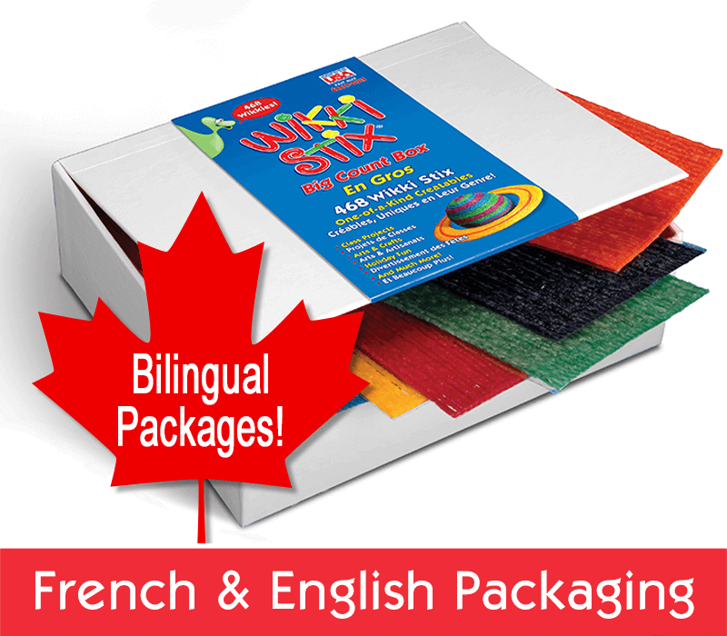 Bilingual Packaging: Fench and English