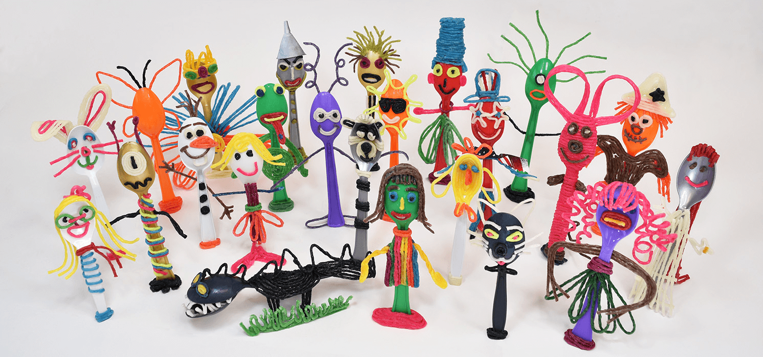 Forky, Toy Story 4 inspired crafts for kids