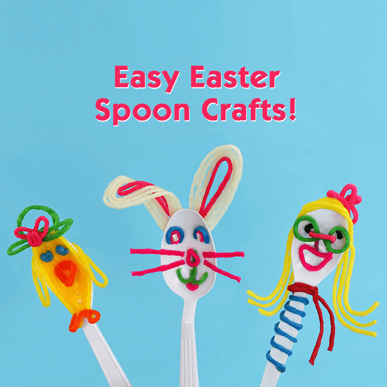 Easter Spoon Crafts