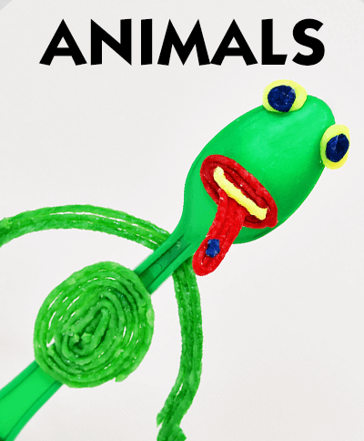 Forky Inspired Frog Craft