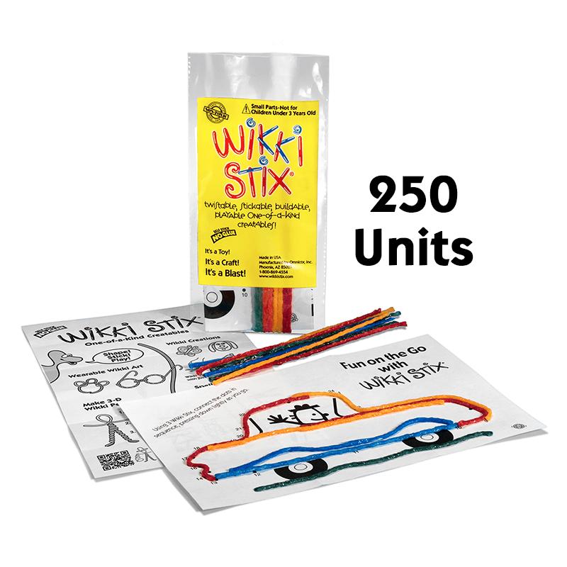 Mini Play Paks 250 Units