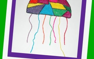 Rainbow Jellyfish Craft Kids Can Make