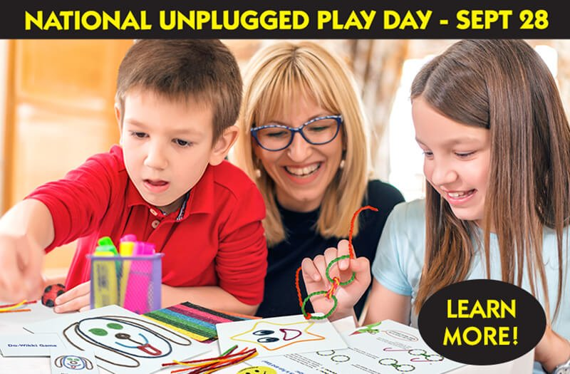 National Unplugged Play Day!