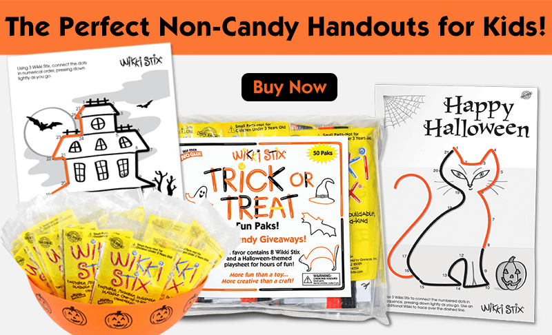 Halloween Non-Candy Handouts for Kids