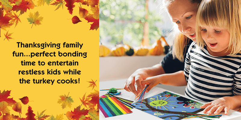 Thanksgiving Crafts and Lessons for Kids