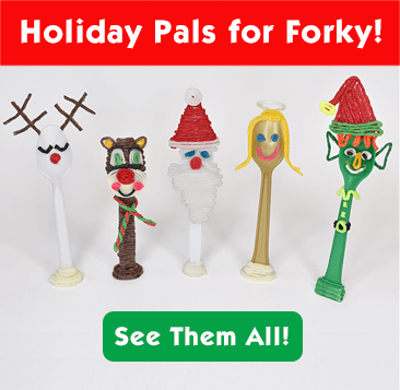 Holiday Pals for Forky!