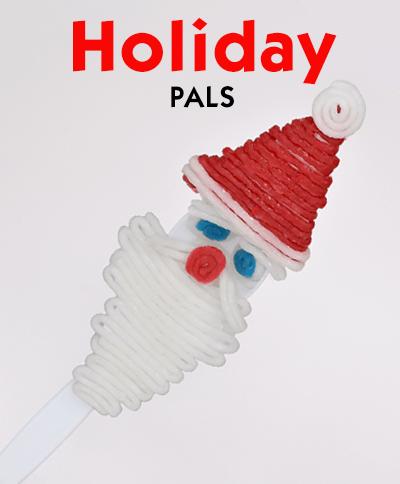 Holiday Forky Pals