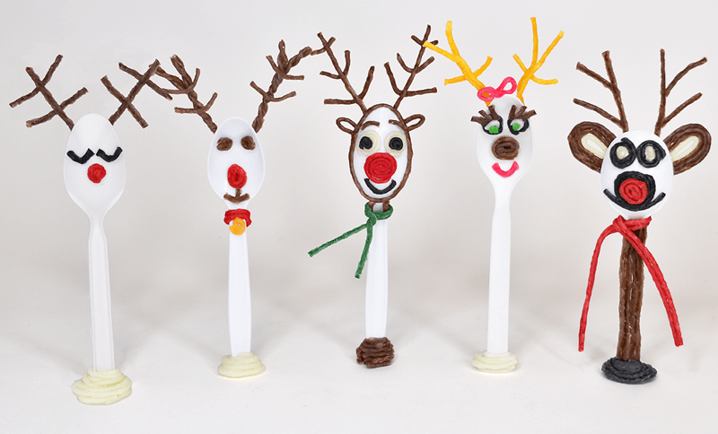 Reindeer Pals for Forky