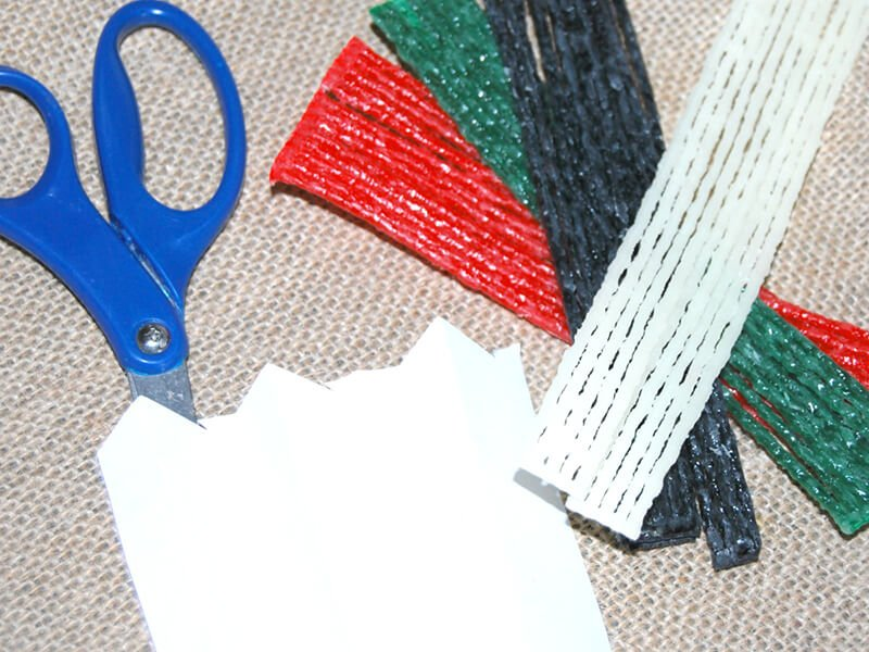 Fine Motor Snowman Craft Supplies