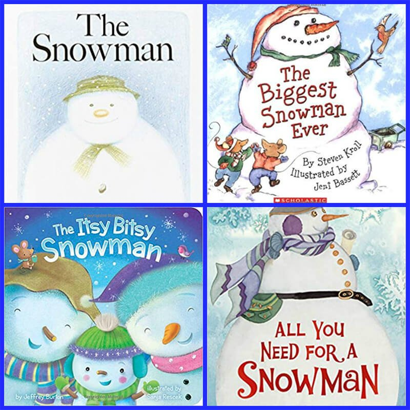 Snowman Books for Kids