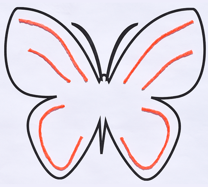 Simple Butterfly Craft