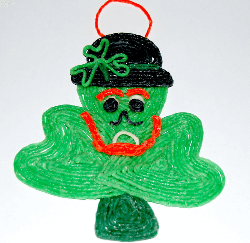 St. Patrick's Day Shamrock Leprechaun Craft for Kids