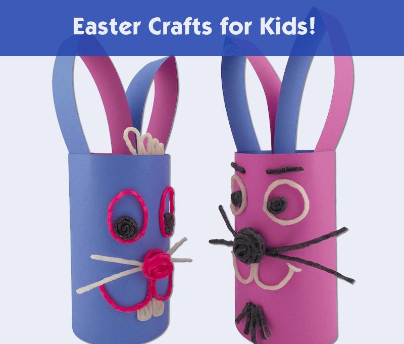 Easter Crafts for Kids!