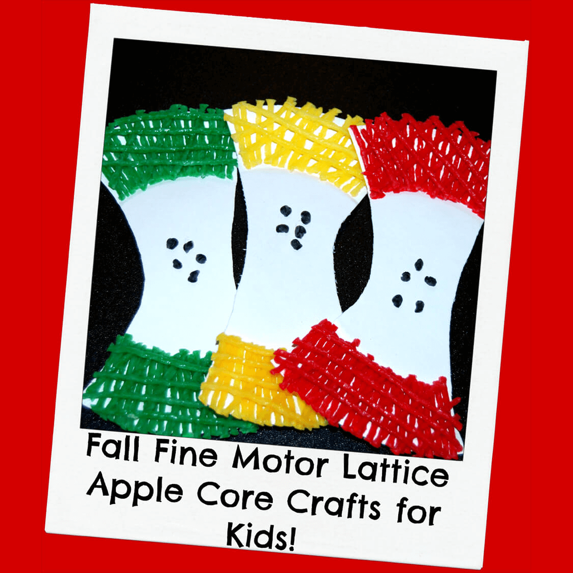 Lattice Apple Core Crafts