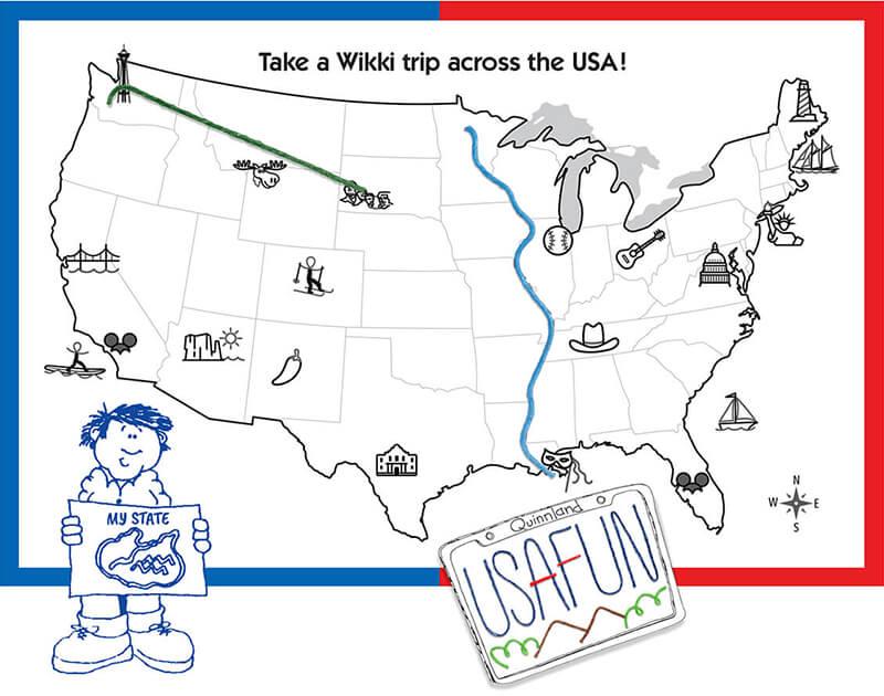 Map Activity Fun!