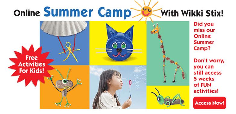 Online summer camp!